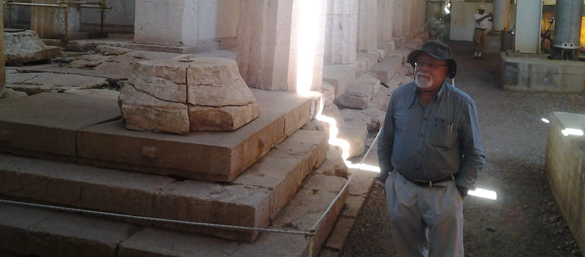 author antiquitatem visits greek ruins