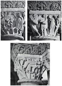 Imágenes de un Capitel románico del siglo XII