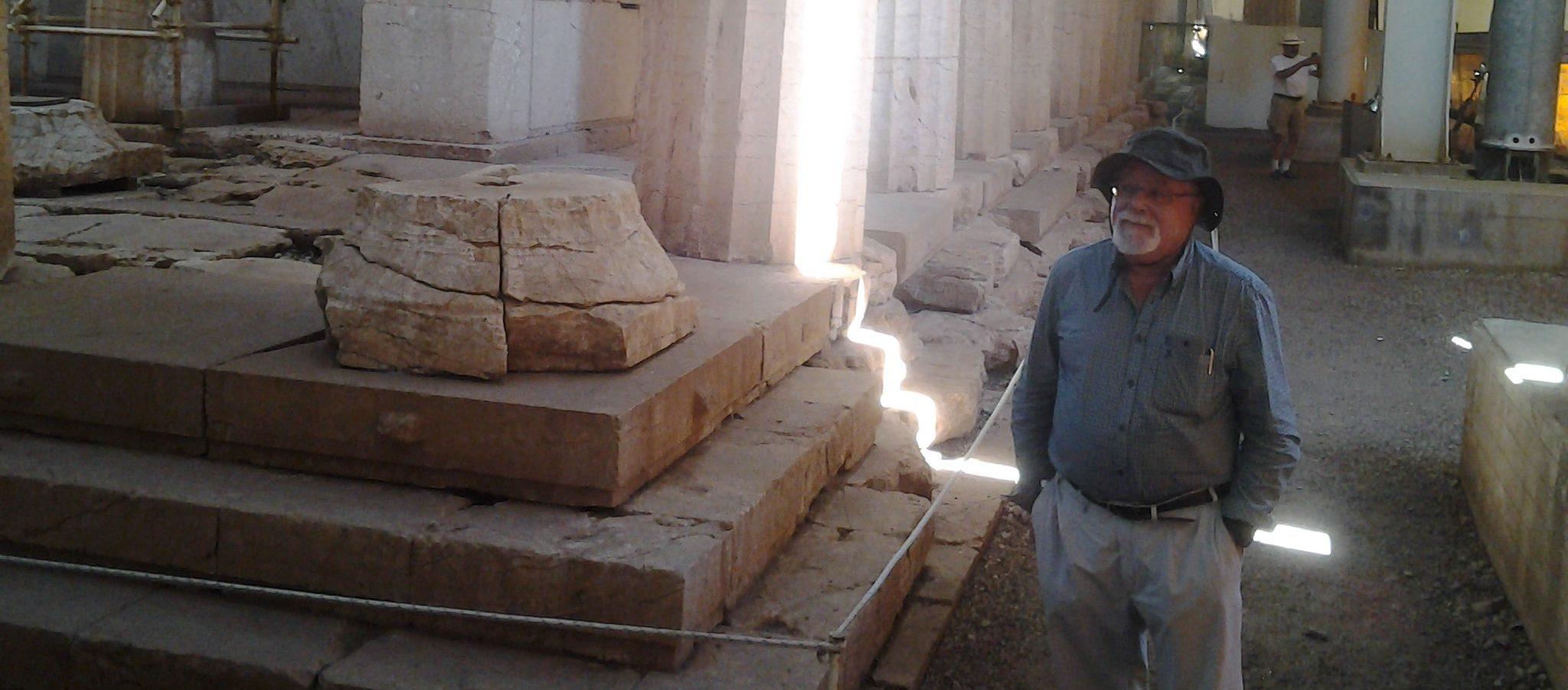 Antonio en Atenas